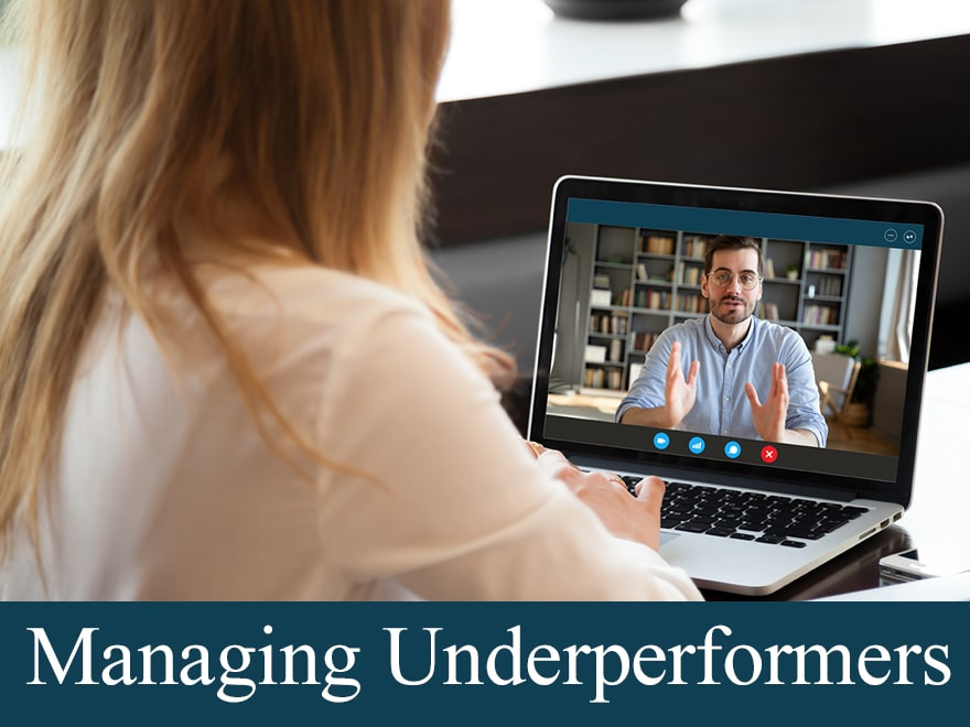 Tips for Managing an Underperformer — Remotely